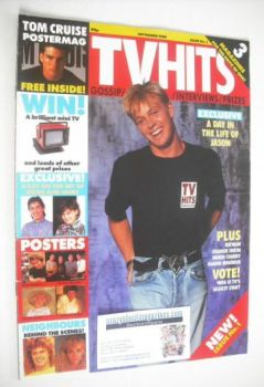 TV Hits magazine - September 1989 - Jason Donovan cover (Issue 1)