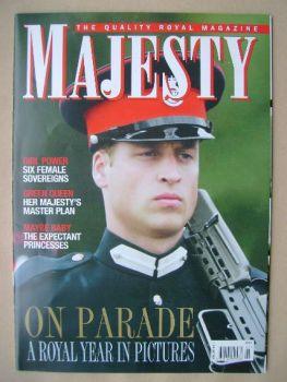 Majesty magazine - Prince William cover (January 2007 - Volume 28 No 1)