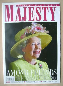 Majesty magazine - The Queen cover (June 2007 - Volume 28 No 6)