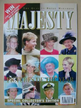 Majesty magazine - Pictures Of The Year cover (January 2001 - Volume 22 No 1)