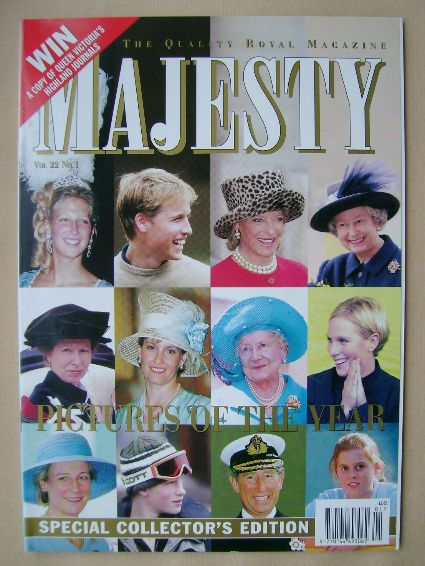 <!--2001-01-->Majesty magazine - Pictures Of The Year cover (January 2001 -