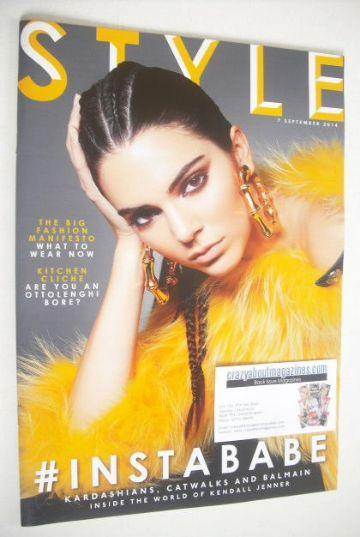 <!--2014-09-07-->Style magazine - Kendall Jenner cover (7 September 2014)