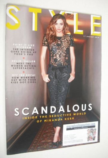 <!--2014-08-17-->Style magazine - Miranda Kerr cover (17 August 2014)