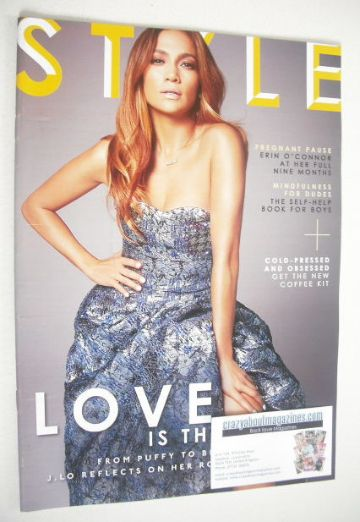 <!--2014-07-06-->Style magazine - Jennifer Lopez cover (6 July 2014)