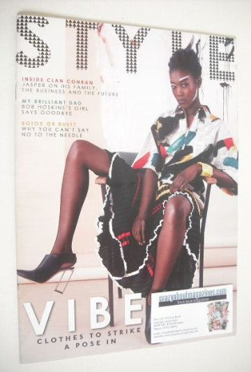 <!--2014-06-15-->Style magazine - Vibe cover (15 June 2014)