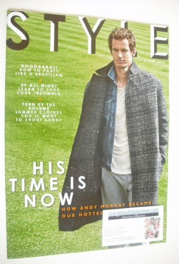 <!--2014-06-08-->Style magazine - Andy Murray cover (8 June 2014)