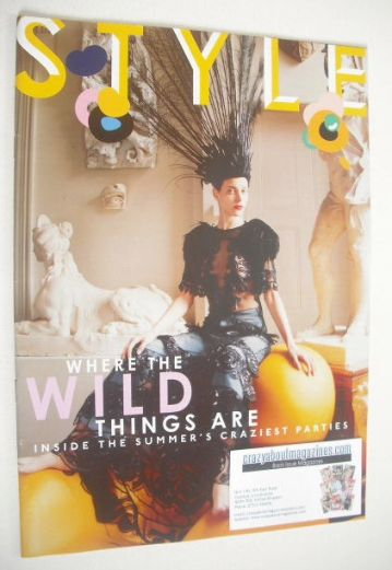 <!--2014-06-01-->Style magazine - Where The Wild Things Are cover (1 June 2