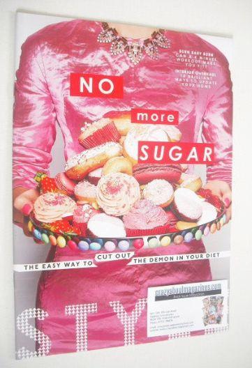 <!--2014-01-05-->Style magazine - No More Sugar cover (5 January 2014)