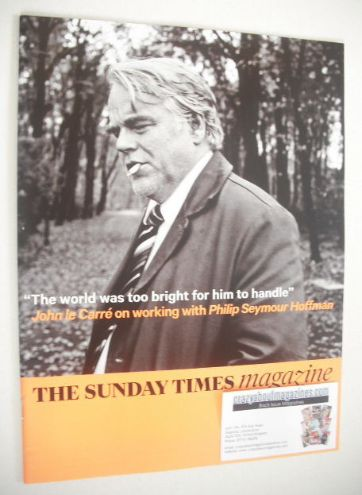 <!--2014-08-24-->The Sunday Times magazine - Philip Seymour Hoffman cover (