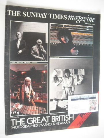 <!--1979-11-25-->The Sunday Times magazine - The Great British cover (25 No
