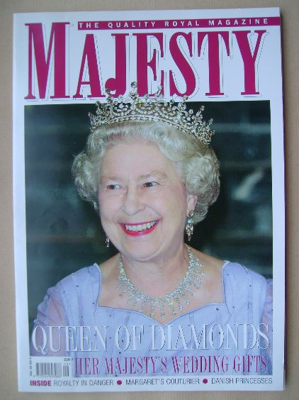 <!--2007-09-->Majesty magazine - The Queen cover (September 2007 - Volume 2