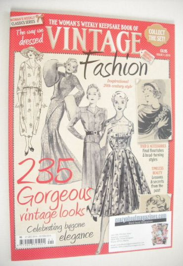 <!--2015-13-01-->Woman's Weekly Classic Series magazine - Vintage Fashion (