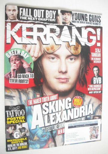 <!--2015-05-30-->Kerrang magazine - Asking Alexandria cover (30 May 2015 -