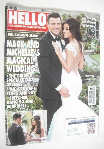 <!--2015-06-08-->Hello! magazine - Mark Wright and Michelle Keegan wedding