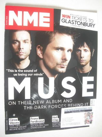 <!--2015-05-23-->NME magazine - Muse cover (23 May 2015)