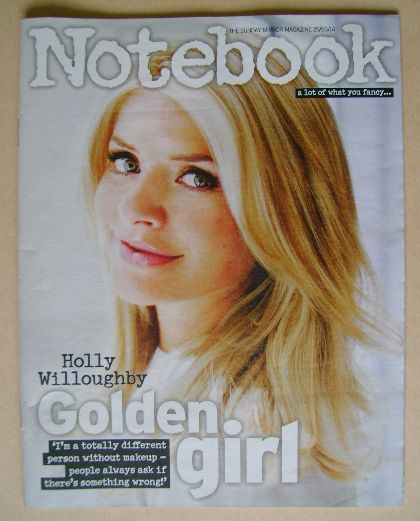 <!--2014-06-29-->Notebook magazine - Holly Willoughby cover (29 June 2014)