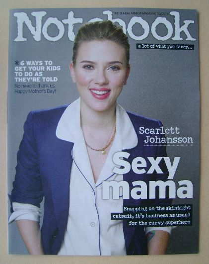 <!--2014-03-30-->Notebook magazine - Scarlett Johansson cover (30 March 201
