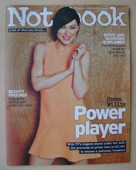 Notebook magazine - Emma Willis cover (1 June 2014)