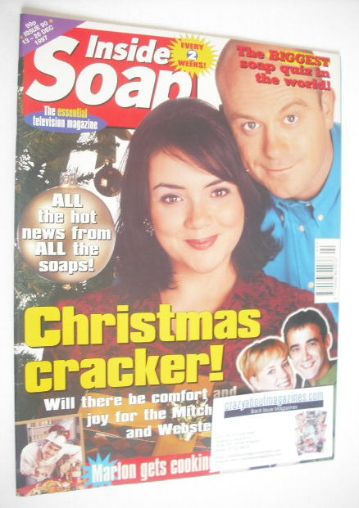 <!--1997-12-13-->Inside Soap magazine - Ross Kemp and Martine McCutcheon co