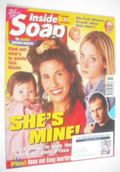 Inside Soap magazine - Gaynor Faye and Joanne Froggatt cover (29 November - 12 December 1997)