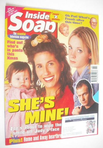 <!--1997-11-29-->Inside Soap magazine - Gaynor Faye and Joanne Froggatt cov