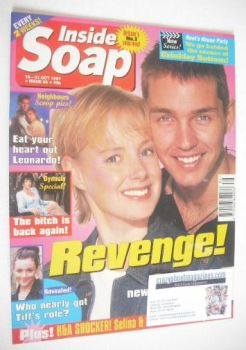 Inside Soap magazine - Sally Whittaker and Matthew Marsden cover (18-31 October 1997)