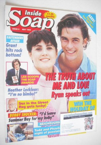 <!--1993-05-->Inside Soap magazine - Alistair McDougall and Dee Smart cover
