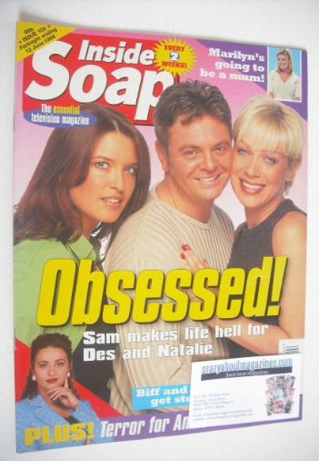 <!--1998-05-30-->Inside Soap magazine - Tina Hobley, Philip Middlemiss and