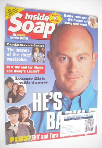 <!--1998-06-13-->Inside Soap magazine - Ross Kemp cover (13-26 June 1998)