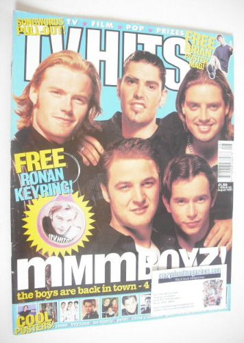 <!--1997-08-->TV Hits magazine - August 1997 - Boyzone cover