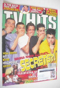 TV Hits magazine - June 1998 - Five cover