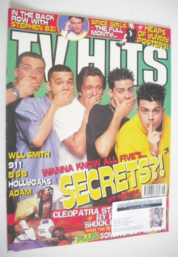 <!--1998-06-->TV Hits magazine - June 1998 - Five cover