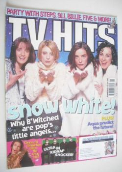TV Hits magazine - January 1999 - B*Witched cover