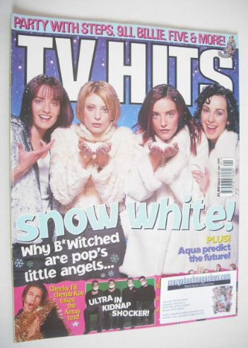 <!--1999-01-->TV Hits magazine - January 1999 - B*Witched cover