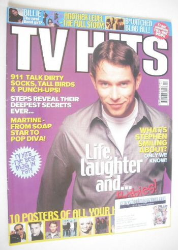 <!--1999-04-->TV Hits magazine - April 1999 - Stephen Gately cover