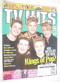 TV Hits magazine - May 1999 - Westlife cover