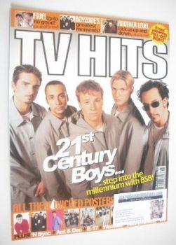 TV Hits magazine - June 1999 - Backstreet Boys cover