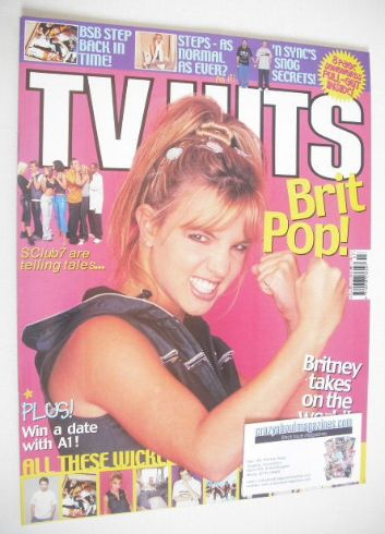 <!--1999-07-->TV Hits magazine - July 1999 - Britney Spears cover