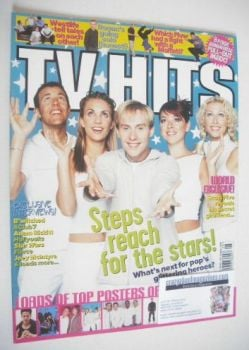 TV Hits magazine - August 1999 - Steps cover