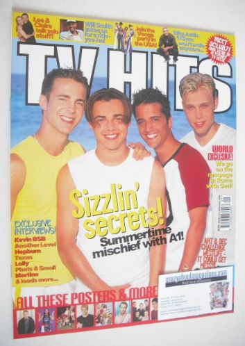 <!--1999-09-->TV Hits magazine - September 1999 - A1 cover