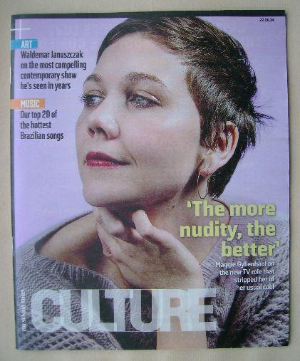 <!--2014-06-22-->Culture magazine - Maggie Gyllenhaal cover (22 June 2014)