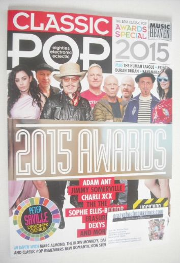 <!--2015-04-->Classic Pop magazine - 2015 Awards cover (April/May 2015)