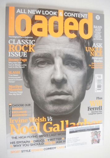 <!--2015-04-->Loaded magazine - Noel Gallagher cover (April 2015 - Final Is