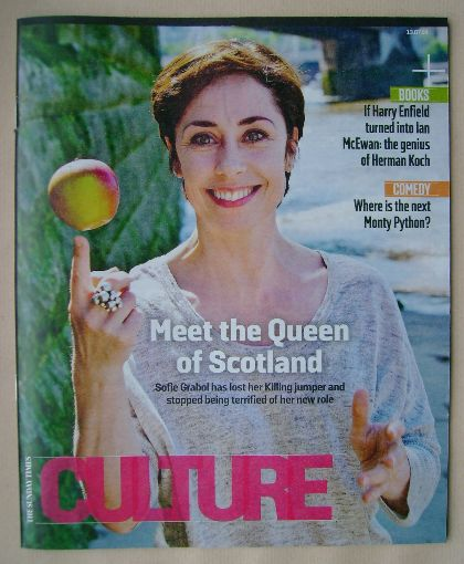 <!--2014-07-13-->Culture magazine - Sofie Grabol cover (13 July 2014)