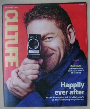 <!--2015-03-15-->Culture magazine - Kenneth Branagh cover (15 March 2015)
