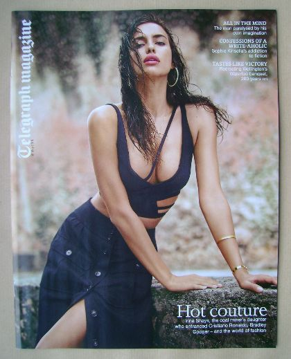 <!--2015-05-30-->Telegraph magazine - Irina Shayk cover (30 May 2015)
