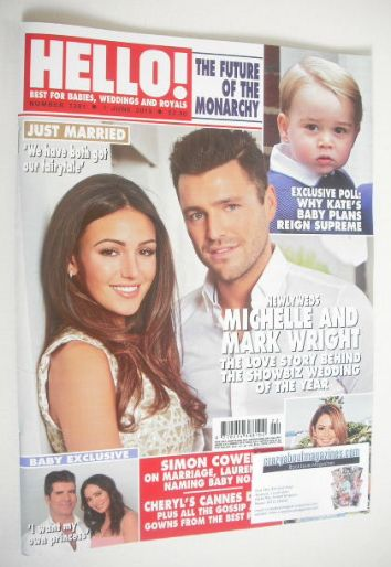 <!--2015-06-01-->Hello! magazine - Mark Wright and Michelle Keegan cover (1