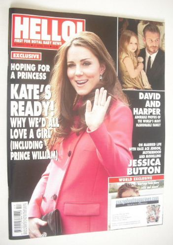 <!--2015-04-27-->Hello! magazine - The Duchess of Cambridge cover (27 April