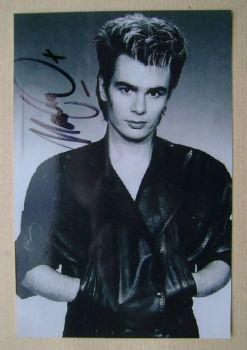 Nik Kershaw autograph