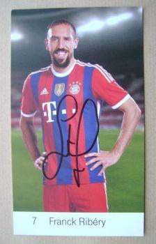 Franck Ribery autograph